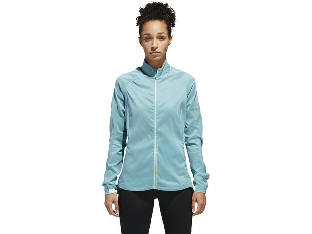 adidas Supernova Confident 3 Season Jacket Damen clear mint/colored heather